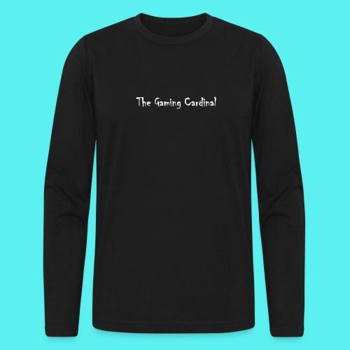 white logo text - Men's Long Sleeve T-Shirt by Next Level