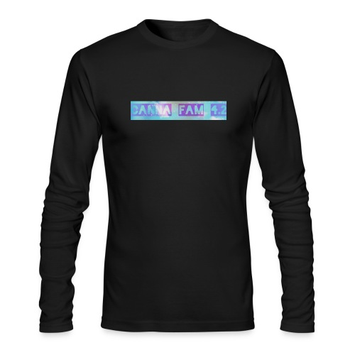 Canna fams #3 design - Men's Long Sleeve T-Shirt by Next Level