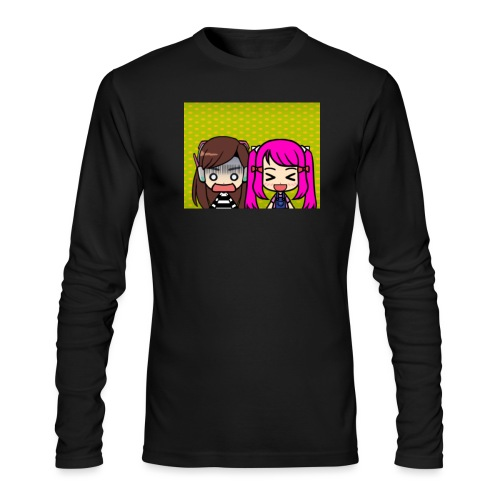 Phone case merch of jazzy and raven - Men's Long Sleeve T-Shirt by Next Level