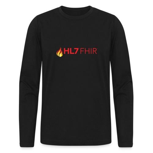 HL7 FHIR Logo - Men's Long Sleeve T-Shirt by Next Level