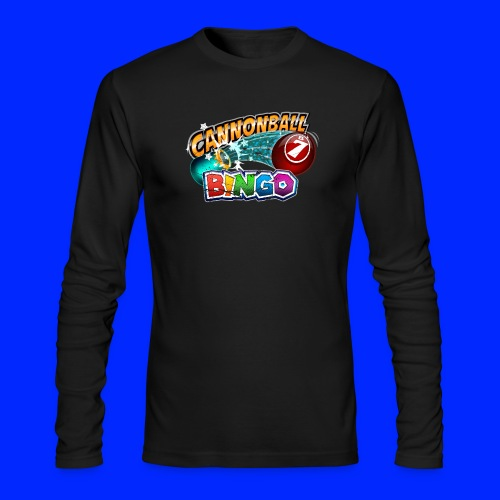 Vintage Cannonball Bingo Logo - Men's Long Sleeve T-Shirt by Next Level