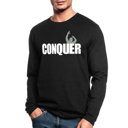 Zyzz Conquer - Men's Long Sleeve T-Shirt by Next Level