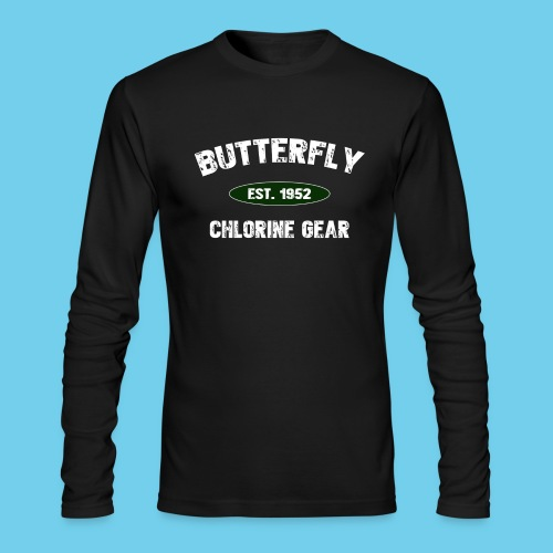 Butterfly est 1952-M - Men's Long Sleeve T-Shirt by Next Level