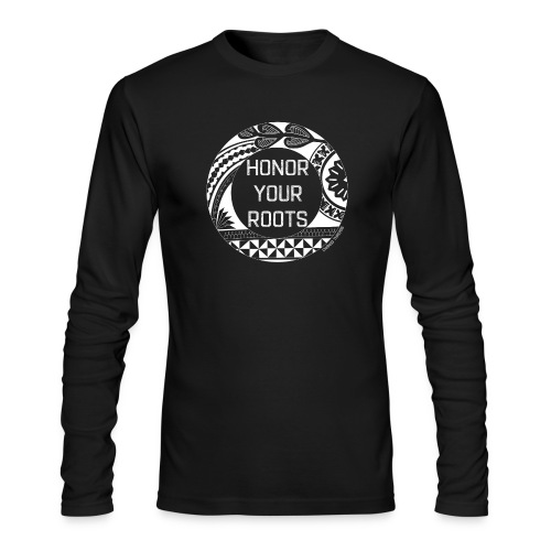 Honor Your Roots (White) - Men's Long Sleeve T-Shirt by Next Level