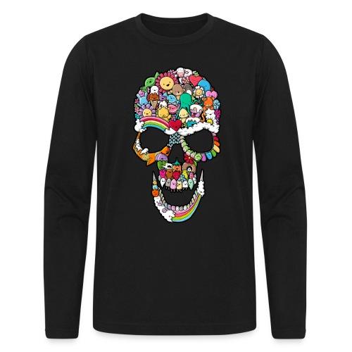 Sweet Skull - Men's Long Sleeve T-Shirt by Next Level