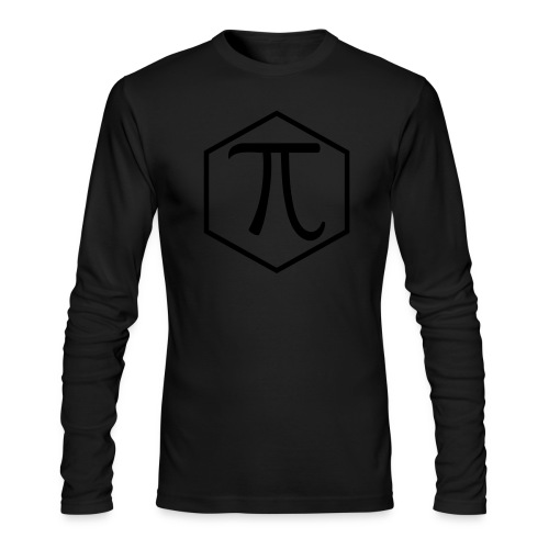Pi - Men's Long Sleeve T-Shirt by Next Level