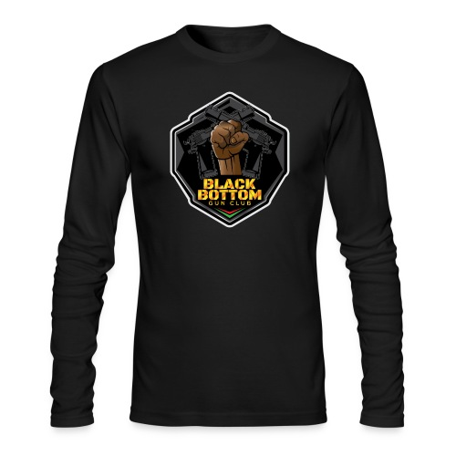 Black Bottom Gun Club - Men's Long Sleeve T-Shirt by Next Level