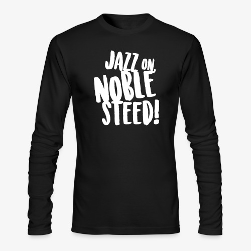 MSS Jazz on Noble Steed - Men's Long Sleeve T-Shirt by Next Level