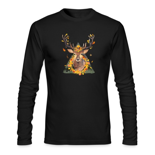 The Spirit of the Forest - Men's Long Sleeve T-Shirt by Next Level