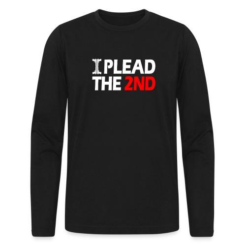 I Plead - White FNT - Men's Long Sleeve T-Shirt by Next Level