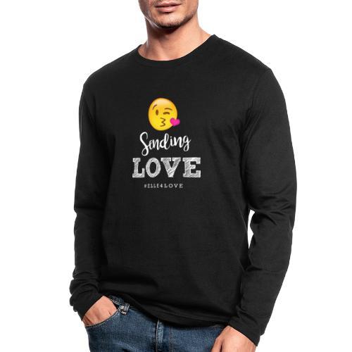 Sending Love - Men's Long Sleeve T-Shirt by Next Level