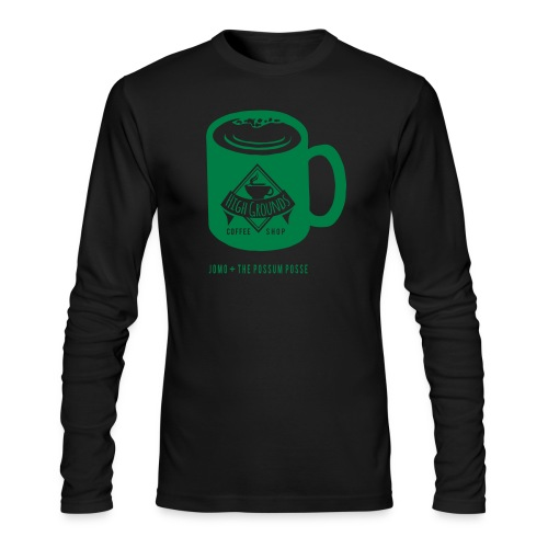 High Grounds Coffee Shop - Men's Long Sleeve T-Shirt by Next Level