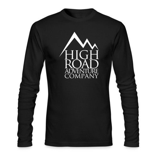High Road Adventure Company Logo - Men's Long Sleeve T-Shirt by Next Level