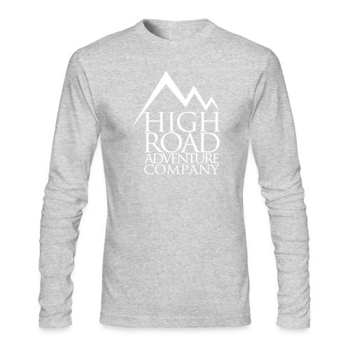 High Road Adventure Company Logo - Men's Long Sleeve T-Shirt by Next Level