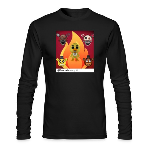 Firecoder Plays - Men's Long Sleeve T-Shirt by Next Level