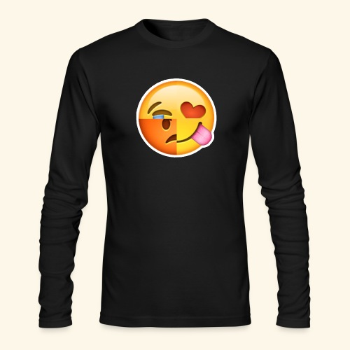 E Tees , Unique , Love , Cry, angry - Men's Long Sleeve T-Shirt by Next Level