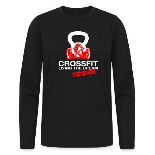 CROSSFIT LTQD - WHITE - Men's Long Sleeve T-Shirt by Next Level