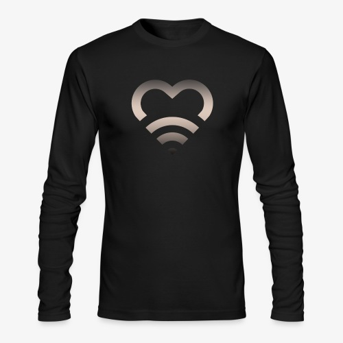 I Heart Wifi IPhone Case - Men's Long Sleeve T-Shirt by Next Level