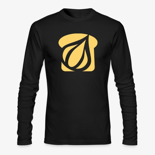 Garlic Toast - Men's Long Sleeve T-Shirt by Next Level