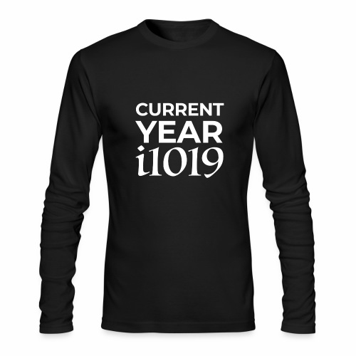 Current Year i1019 - Men's Long Sleeve T-Shirt by Next Level