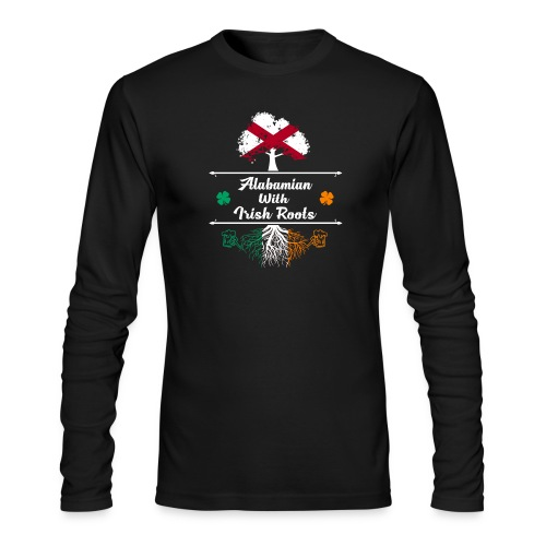 ALABAMIAN WITH IRISH ROOTS - Men's Long Sleeve T-Shirt by Next Level