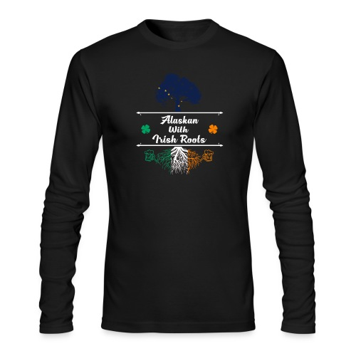 ALASKAN WITH IRISH ROOTS - Men's Long Sleeve T-Shirt by Next Level