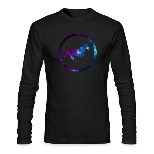 Believe Unicorn Universe 3 - Men's Long Sleeve T-Shirt by Next Level