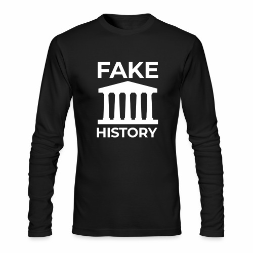 Fake History: Colonial Style Buildings Worldwide - Men's Long Sleeve T-Shirt by Next Level