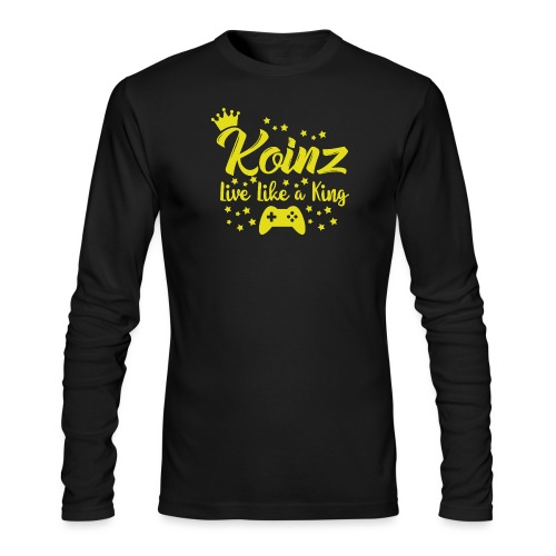 Live Like A King - Men's Long Sleeve T-Shirt by Next Level