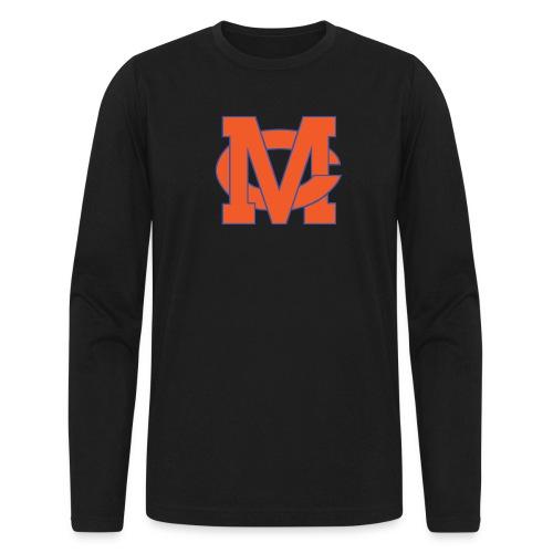 interlocking MC vector - Men's Long Sleeve T-Shirt by Next Level