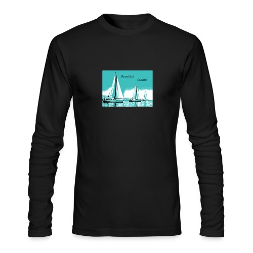 Beautiful Croatia - Men's Long Sleeve T-Shirt by Next Level