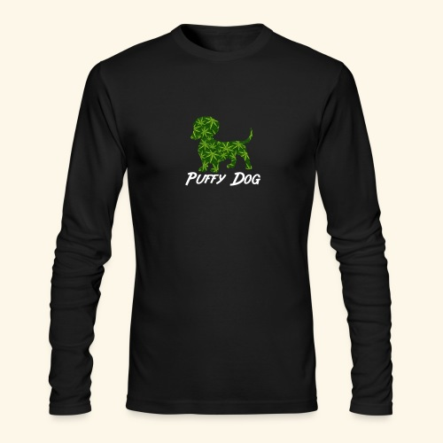 PUFFY DOG - PRESENT FOR SMOKING DOGLOVER - Men's Long Sleeve T-Shirt by Next Level