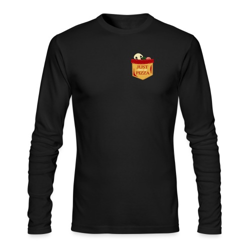 Just feed me pizza - Men's Long Sleeve T-Shirt by Next Level