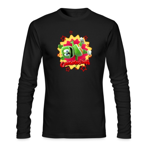 Gummibär Starburst - Men's Long Sleeve T-Shirt by Next Level