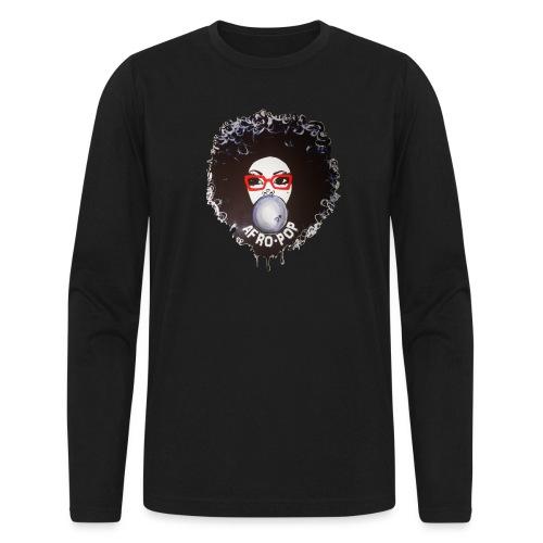 Afro pop_ - Men's Long Sleeve T-Shirt by Next Level