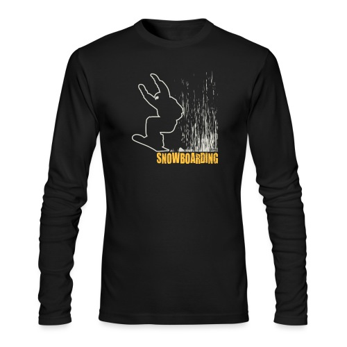 Snowboarder Snowboarding - Men's Long Sleeve T-Shirt by Next Level