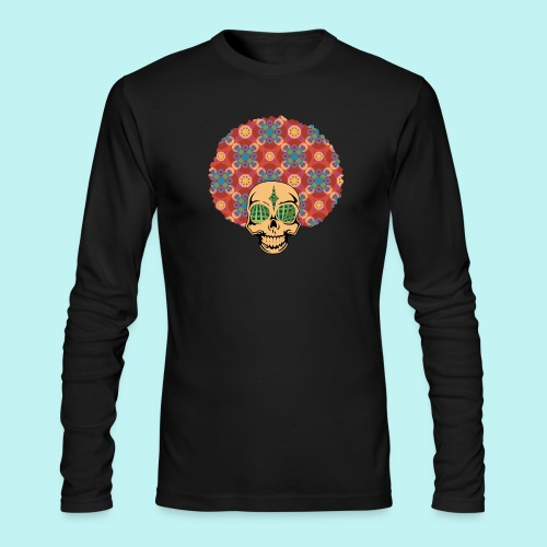 MACK DADDY SKULLY - Men's Long Sleeve T-Shirt by Next Level