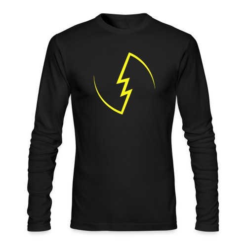 Electric Spark - Men's Long Sleeve T-Shirt by Next Level