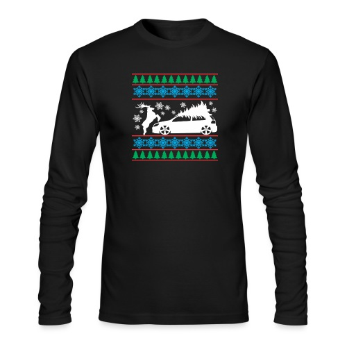 MK6 GTI Ugly Christmas Sweater - Men's Long Sleeve T-Shirt by Next Level