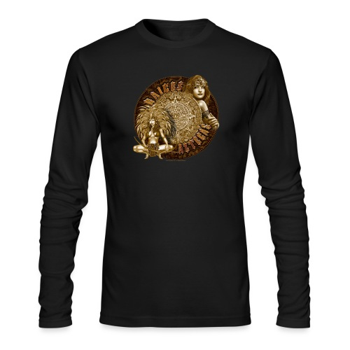 Raices Aztecas by RollinLow - Men's Long Sleeve T-Shirt by Next Level