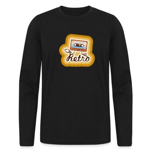 Retro-Cassette - Men's Long Sleeve T-Shirt by Next Level
