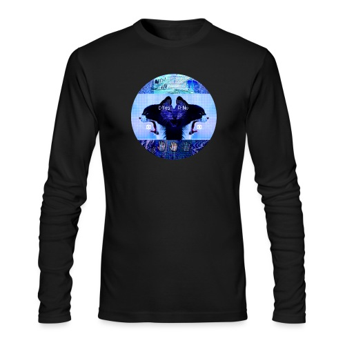 Yes No - Men's Long Sleeve T-Shirt by Next Level