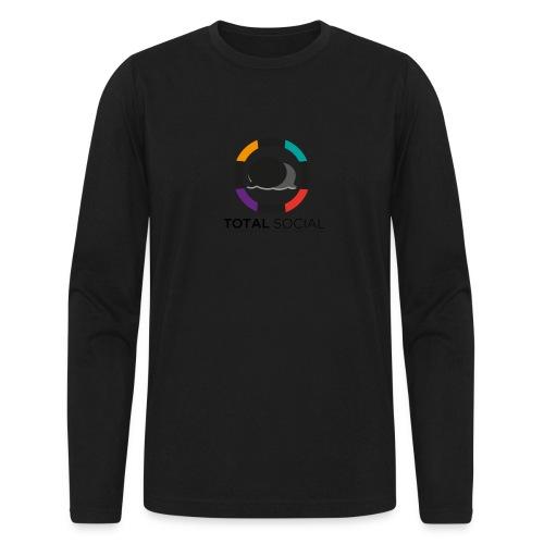 Logo_Total_Social_PNG_03 - Men's Long Sleeve T-Shirt by Next Level