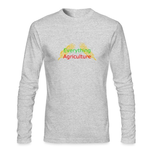 Everything Agriculture LOGO - Men's Long Sleeve T-Shirt by Next Level