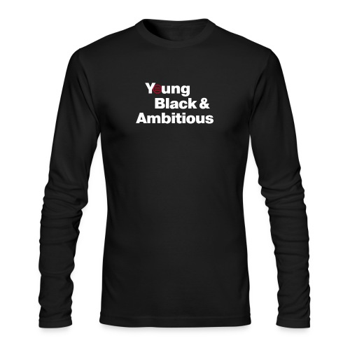 YBA Black Shirt2 - Men's Long Sleeve T-Shirt by Next Level