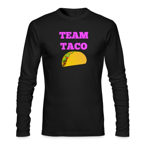 TEAMTACO - Men's Long Sleeve T-Shirt by Next Level