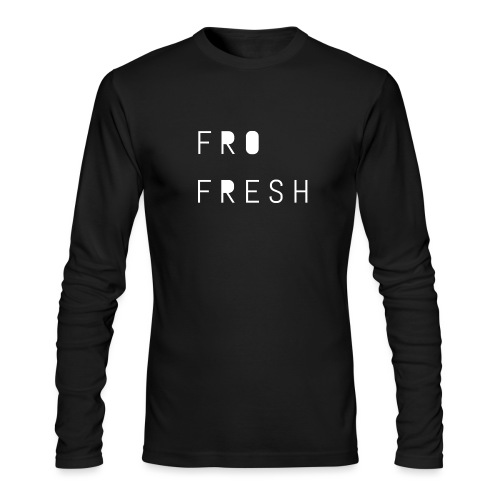 Fro fresh - Men's Long Sleeve T-Shirt by Next Level