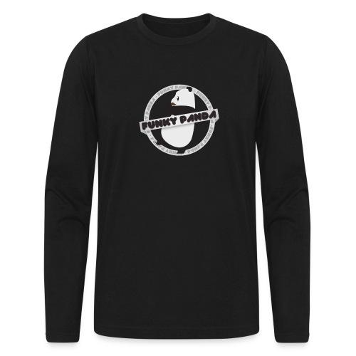 Funky Panda Logo - Men's Long Sleeve T-Shirt by Next Level