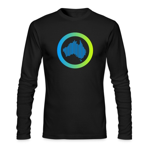 Gradient Symbol Only - Men's Long Sleeve T-Shirt by Next Level