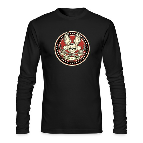 Brush With Death - Men's Long Sleeve T-Shirt by Next Level